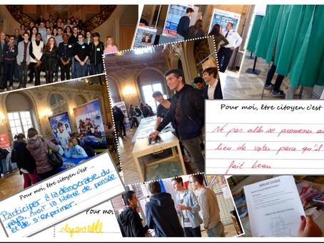 """Prix Anacej des jeunes citoyens 2017, les """"Grandes Villes"""" en action !"""