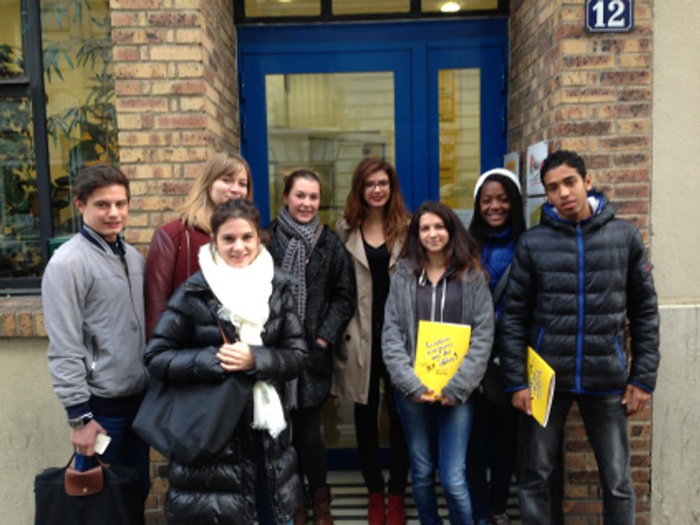Les jeunes membres du jury du Prix des jeunes Cap'Com-Anacej