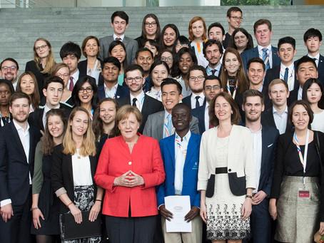 Retour sur la participation d'Amélie et Tanguy, du Comité jeunes, au G20 des jeunes