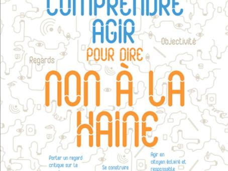 """#Outil : """"Non à la haine"""", par la Confédération des MJC de France"""