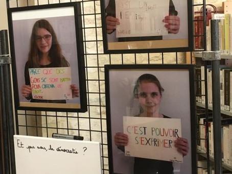 « Je vote donc je suis ! », l'exposition du CMJ d'Argences