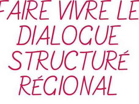 26 septembre : Journée d'échange et d'information sur le dialogue structuré régional