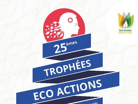 25ème édition des Trophées Eco Actions, valorisez vos actions pour le développement durable