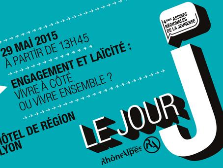 Le 29 mai, participez aux 4èmes Assises régionales de la jeunesse, en région Rhône-Alpes