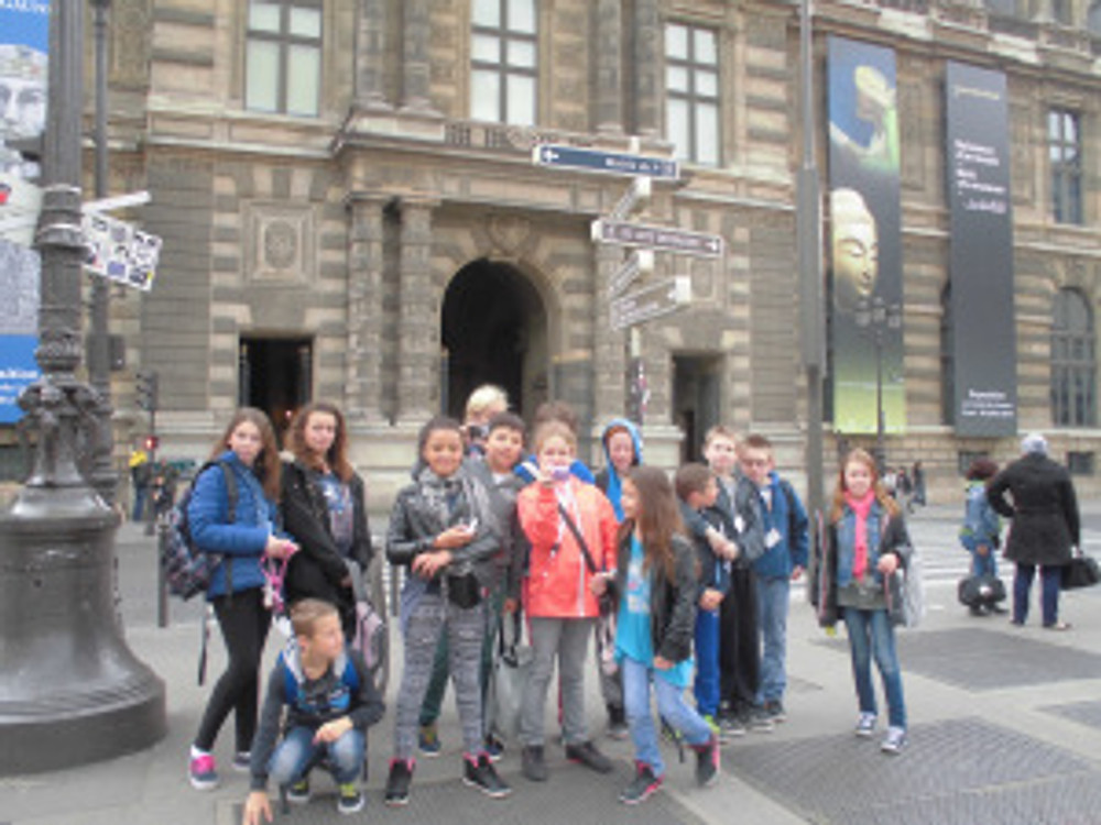 Les membres du CME de Pont-Scorff, dans les rues de la ville ©Mairie Pont-Scorrf