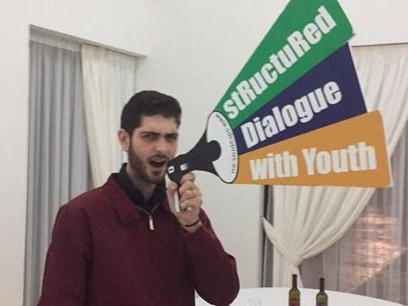 """Retour sur la participation de Ramy, du ComJ, à l'évènement """"Youth Ambassadors in action"""