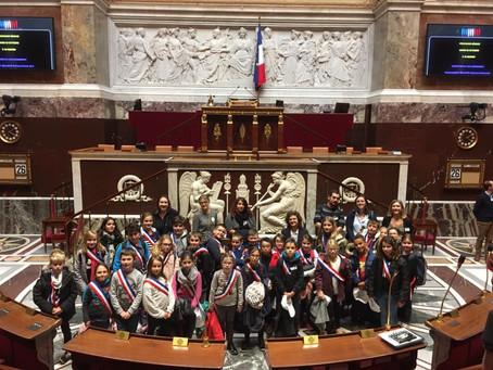 Le CME de Gannat a visité à l'Assemblée nationale le 28 octobre 2018