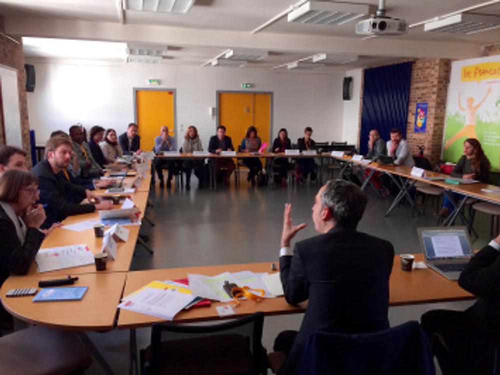 """Jean-Benoît Dujol, Délégué interministériel à la jeunesse, intervenait lors de la précédente """"Rencontre des Régions"""" en mars 2017 ©Anacej"""