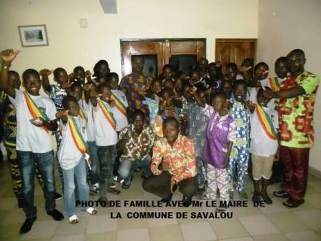 Le Conseil Communal Enfant de Savalou, au Bénin