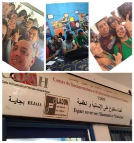 Retour sur la participation de Anne-Marie, du Comité jeunes, aux rencontres Algero-Française de Béja