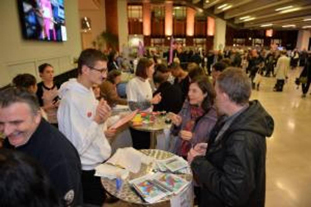 Le CLJ, le 19 novembre à l'Accueil des Nouveaux habitants de Lille.