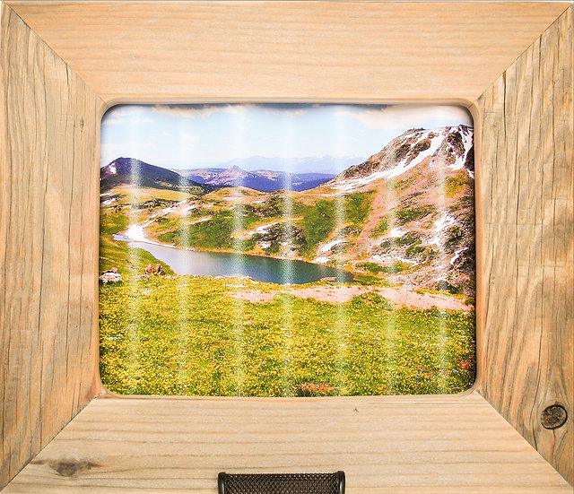 Rustic Nature Art Yellowstone Landscape Front