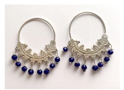 Boucles-d'oreilles-argent-modèle-oriental