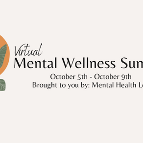 Mental Wellness Summit 2020 Information