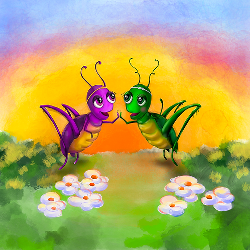 A Story about Friendship Diversity Inclusion Activity Booklet The Purple Grasshopper