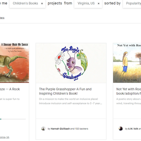 Crowd funding and publishing