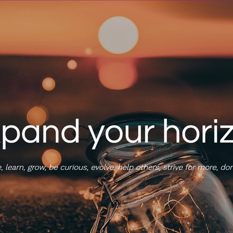 Remembering the why and expanding your horizon