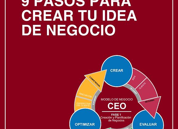 E-Book Premium de Creación de Negocio