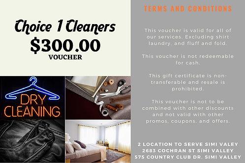 $300.00 Voucher for $225.00 Limited offer