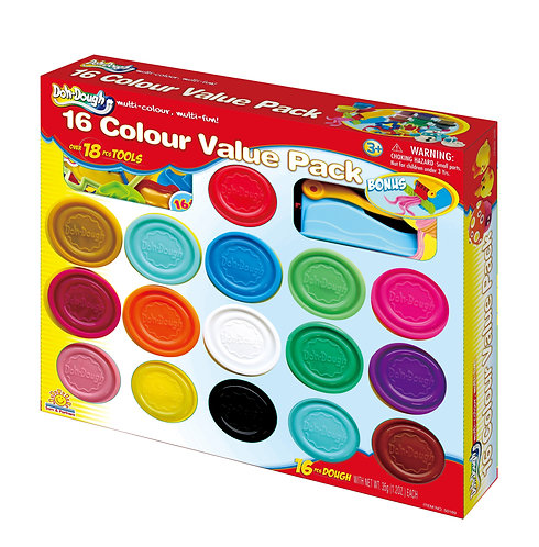 16 Colour Value Pack