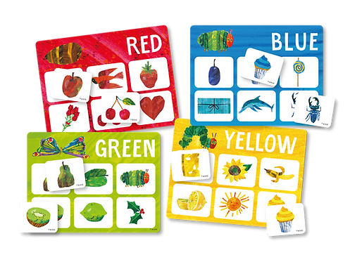 Eric Carle Matching Game - color learning