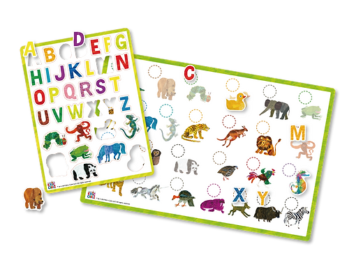 Eric Carle Magnetic Book -Animals A to Z