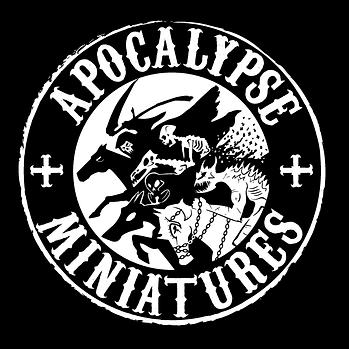 Apocalypse Minatures Logo Design