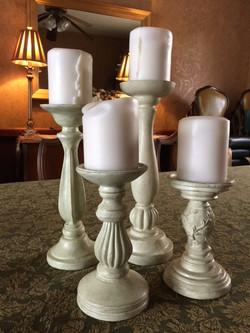 Pillar Candle Pedestals