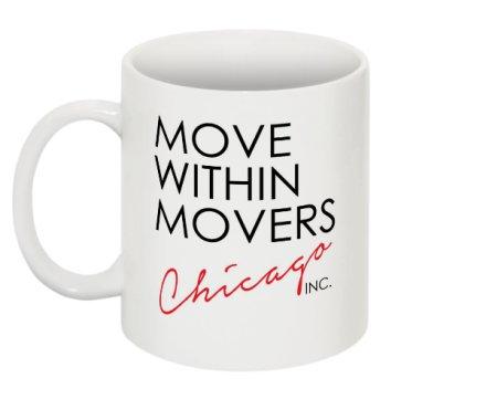 MOVE WITHIN MOVERS Chicago, Inc. Mug