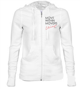 Women's White Long Sleeve Jacket