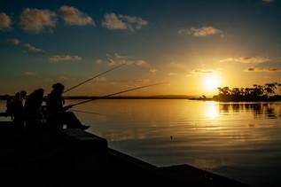 Pescaria no Rio