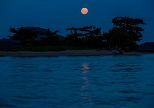 Lua e Ilha