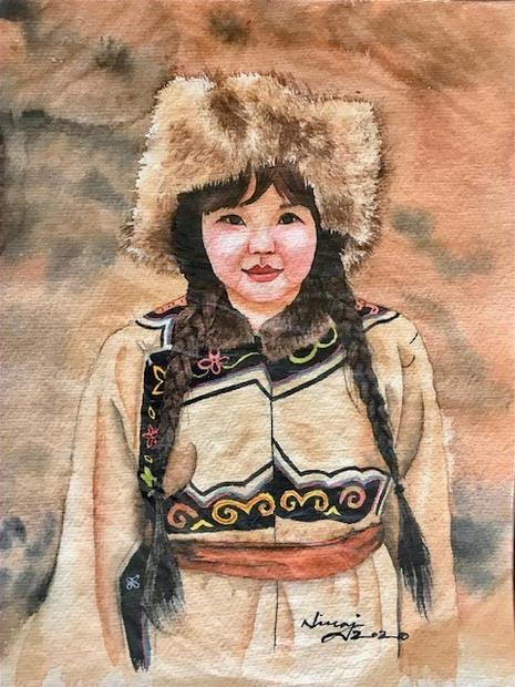 A Tibetan Beauty