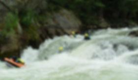 Canyon d'eau chaude avec l'aventurine