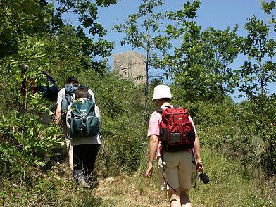 Circuit randonnée semaine sentier Cathare