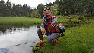 pêche à la mouche pour enfant