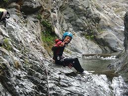 Canyoning avec le bureau montagne de Font Romeu - Pyrénées 2000nt