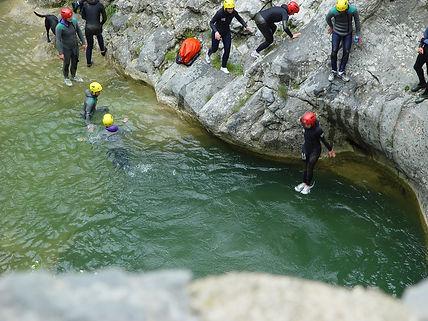 Canyonning avec le Bureau Montagne de Font Romeu Pyrénées 2000