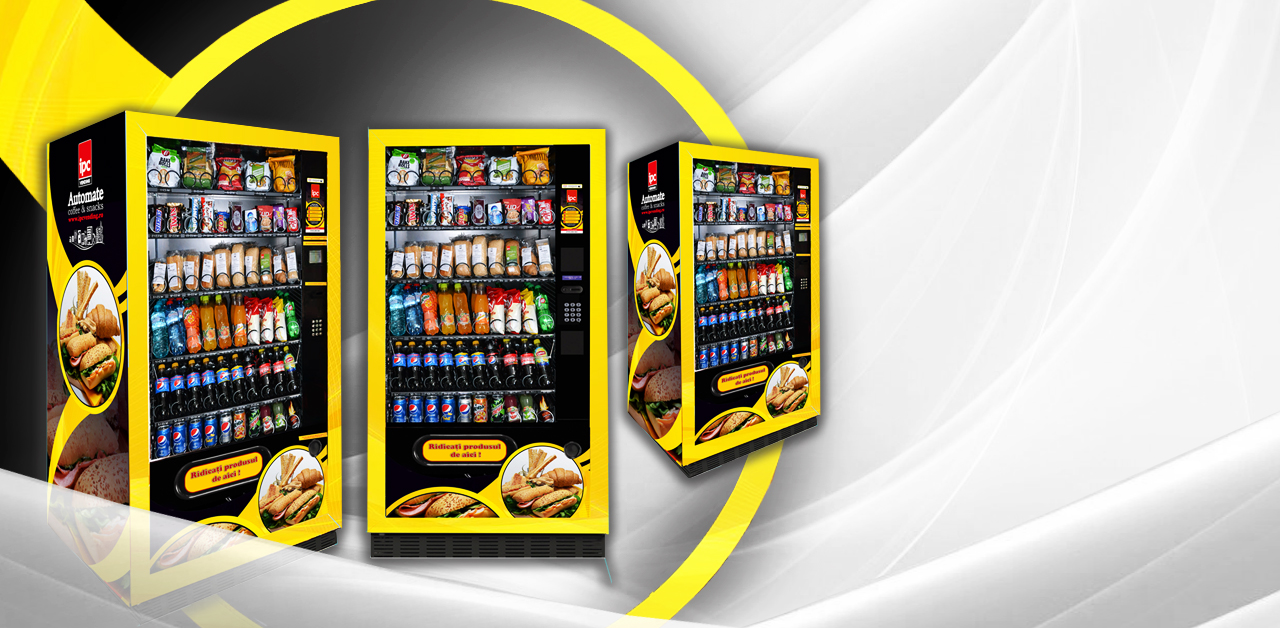 aparate snacks&food IPC Vending