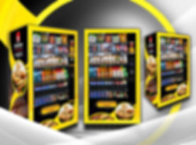 Branding IPC Vending snacks&food