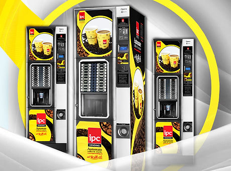 Branding IPC Vending coffee&hot drinks
