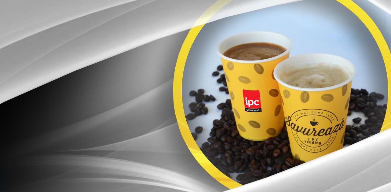 Pahare IPC Vending - varietate băuturi