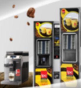Aparate coffee&hot drinks IPC Vending