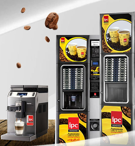 Aparate coffee&hot drinks IPC Vending