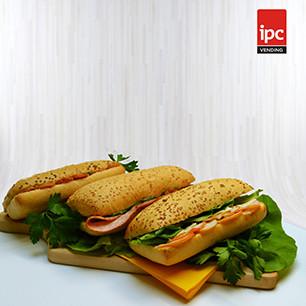 Lansarea liniei de produse proprii - sandvisuri delicioase - marca IPC Vending