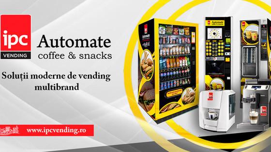 Servicii de distributie vending coffee&snacks pentru angajati fericiti