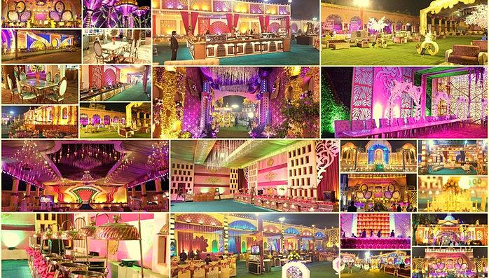 DETAILS & Wedding venues decorators and planners in Delhi