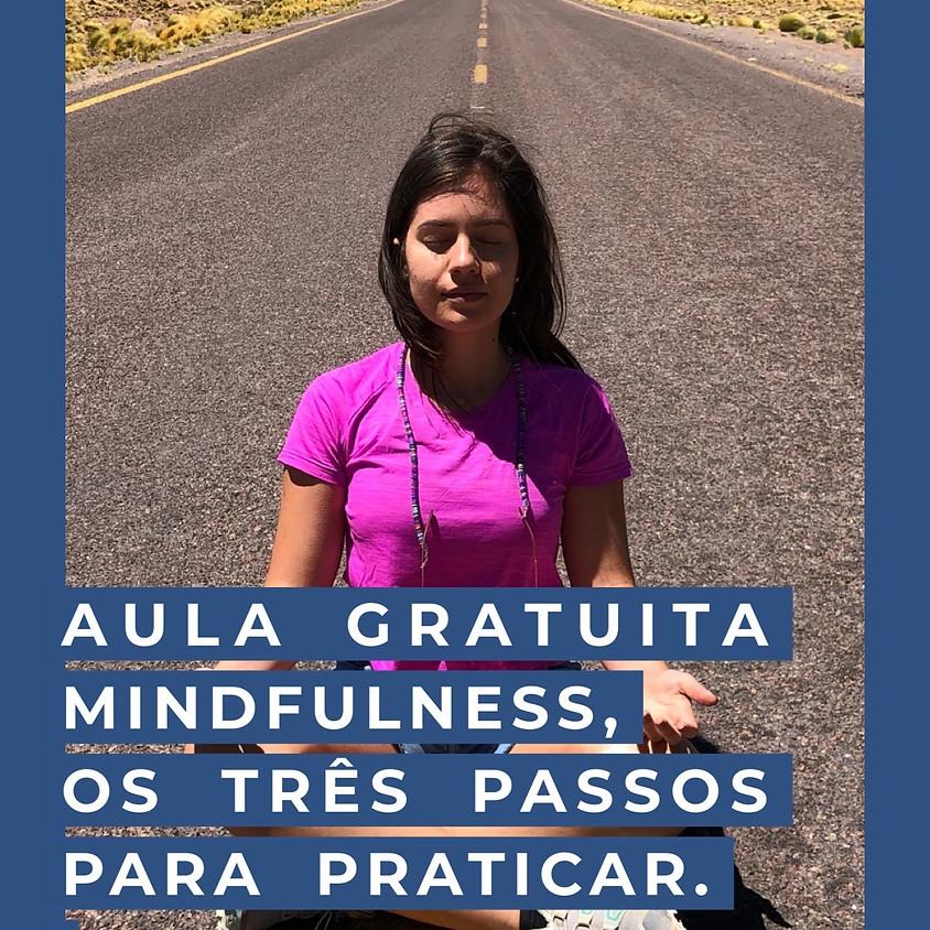 Aula Gratuita de Mindfulness, os 3 passos para praticar!