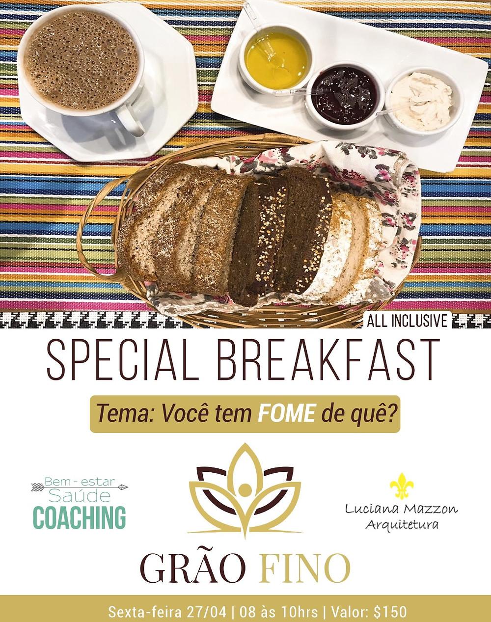 Special Breakfast - Você tem fome de quê?