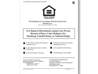 Federal Fair Housing Law